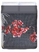 Winter Berries II Duvet Cover