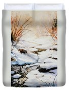 Winter Break Duvet Cover by Hanne Lore Koehler