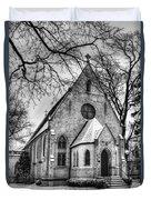 Winter Church Duvet Cover