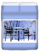 Winter Days Duvet Cover