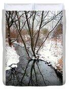 Winter Ditch Duvet Cover