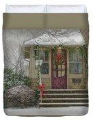 Winter - Dreaming Of A White Christmas Duvet Cover
