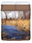 Winter Fade Duvet Cover