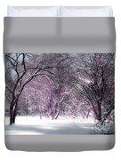 Winter Faeries Duvet Cover