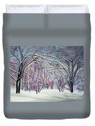 Winter Fairies Duvet Cover