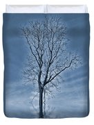 Winter Floods Duvet Cover