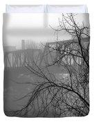 Winter Fog Duvet Cover
