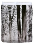 Winter Forest 1 Duvet Cover
