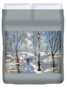 Winter Frost Duvet Cover