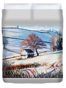 Winter Frost Duvet Cover by Tilly Willis