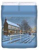 Winter Glow Parish Room Tickhill Yorkshire Duvet Cover