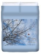 Winter Hope Duvet Cover