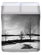 Winter In Roztocze Duvet Cover