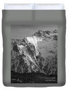 winter in the Bavarian alps 4 Duvet Cover