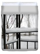Winter Ironwork Duvet Cover