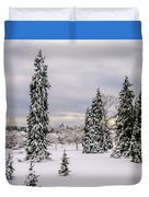 Fabulous Winter. Duvet Cover