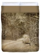 Winter Lane Duvet Cover