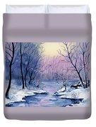Winter Light Duvet Cover