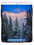 Winter Lodging Duvet Cover