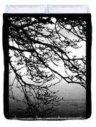 Winter Magnolia Duvet Cover