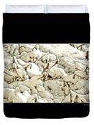 Winter Marigolds Duvet Cover