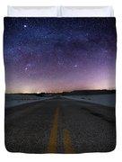 Winter Milky Way Duvet Cover