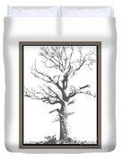 Winter Oak Art Duvet Cover