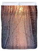 Winter Pathway Duvet Cover