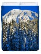 Winter Peak Duvet Cover