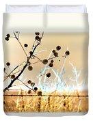 Winter Prairie Duvet Cover