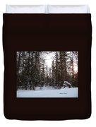 Winter Quiet Duvet Cover