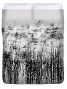 Winter Reeds Duvet Cover