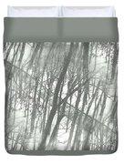 Winter Road Dream Duvet Cover
