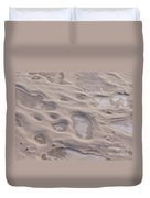 Winter Sand Art Duvet Cover