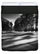 Winter Shadows Duvet Cover