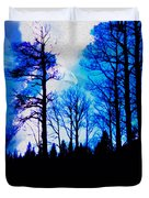 Winter Silhouettes - Ghost Eagle Duvet Cover