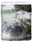 Winter Splash Duvet Cover