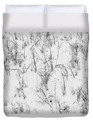 Winter Starkness Duvet Cover