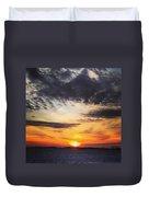 Winter Sunset 2 Duvet Cover