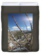 Winter Thorns Duvet Cover