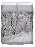 Winter Travel Duvet Cover