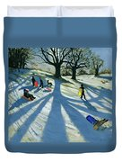 Winter Tree Duvet Cover by Andrew Macara