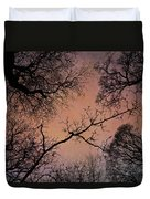Winter Tree Canopy Duvet Cover