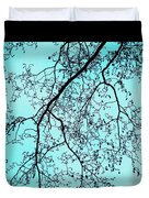 Winter Tree Duvet Cover by Cathy Jacobs