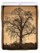Winter Tree - Old Duvet Cover