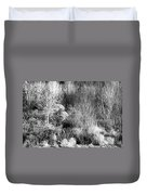 Winter Trees B And W 6 Duvet Cover