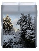Winter Trees Duvet Cover