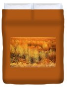 Winter Trees Color  7 Duvet Cover