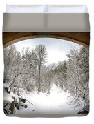 Winter Welcome Duvet Cover