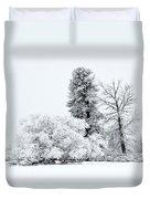Winter White Duvet Cover